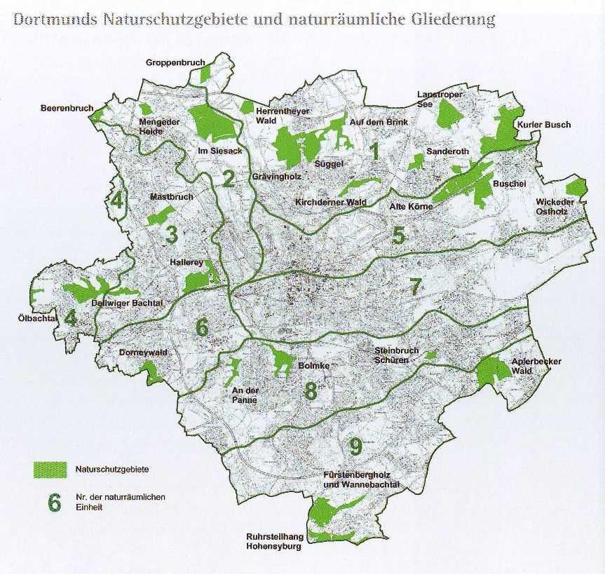 Naturschutzgebiete In Dortmund